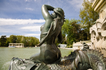 Sculpture, Retiro, Madrid