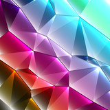 geometric style shiny abstract background