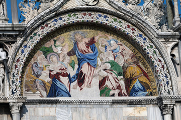 Mosiac on the Basilica San Marco
