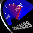 Awarenes Fuel Gauge Aware Rising Improving Knowledge