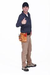 Carpenter giving the go-ahead