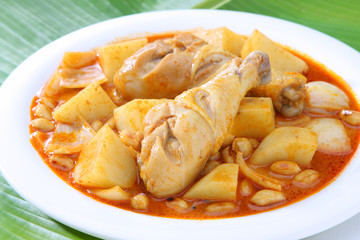 Yellow Curry Chicken Massaman Curry Chicken