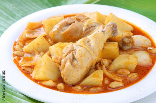 Yellow Curry Chicken Massaman Curry Chicken
