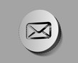 Vector email icon on sticker design