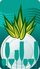 Etichetta detersivo piatti - Aloe vera