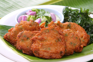 Fried Fish Cakes Thai Food