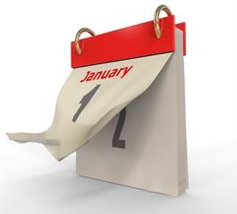 Calendario Rojo