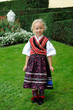 girl in traditional costume from Hesse- Germany