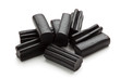 liquorice candy isolated