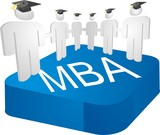 MBA (Master of Business Administration) people poster
