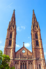 St Bonifatius Church in Wiesbaden, Germany