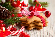 "Постер, картина, фотообои ""Christmas cookies"""