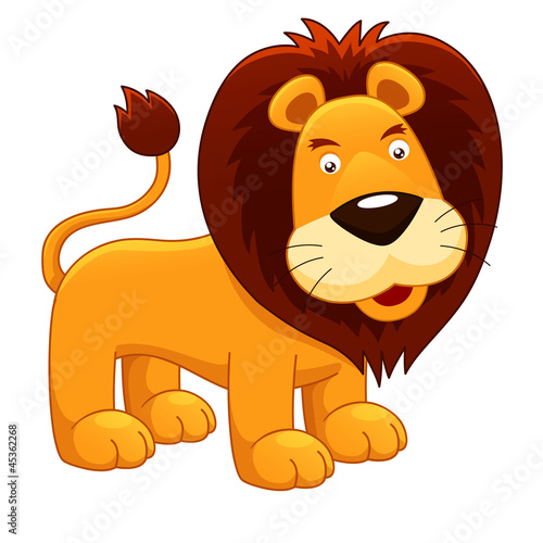 illustration of Lion vector