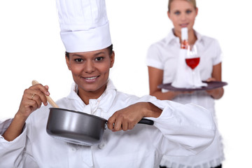 Being a chef is no longer just for men.