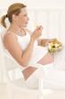 Femme enceinte -  Salade composée