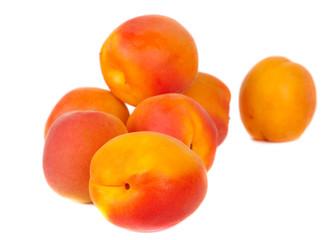 Juisy apricots