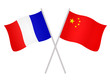 Drapeaux de l'alliance France Chine