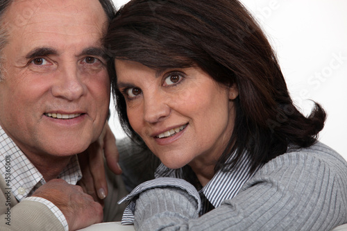 Portrait of a middle-aged couple
