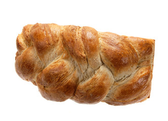 Plaited bread.