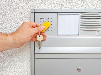 elektronischer Schlüssel identifizieren © Matthias Buehner