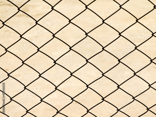 Metal net for background