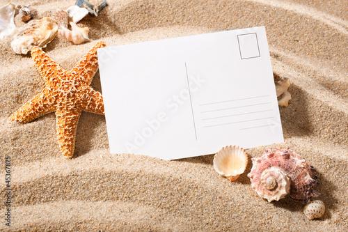 Grusskarte vom Strand
