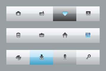 Interface buttons
