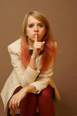 Girl silencing