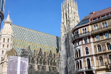 Stephansdom in Vienna, Austria