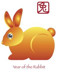 Chinese New Year of the Rabbit Zodiac