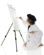 Elementary Artist at Work