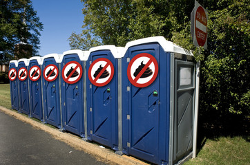 No Poop Outhouses.