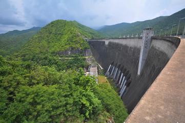 Bhumibol dam Thailand,  generate Electricity.