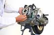 スクーターエンジンの整備