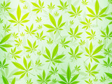 abstract marijuana background