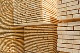 Fototapety Fresh wooden studs