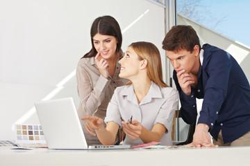 Kreatives Business-Team
