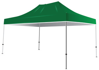 Tent from weather