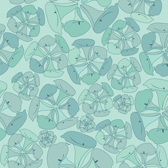 floral seamless pattern. flowers cal. retro wallpaper