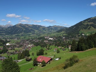 Beautiful Gstaad, Famous Holiday Resort