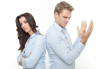 streiten paar