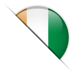 Ireland Flag Glossy Button