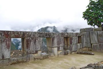 Templo de las tres ventanas. Machu Picchu. Peru