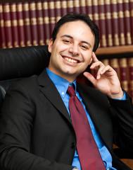 Confident businessman