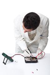 Repairing hard disk