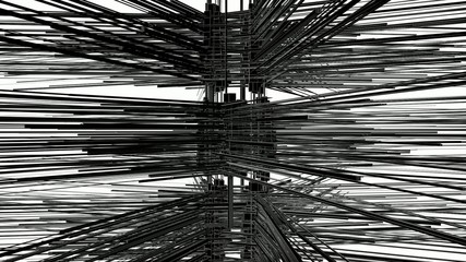 Abstract Structure Construction In Chaos Animation 03