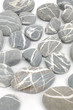 Grey striped stones background