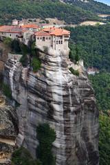 Monastery at Meteora near Kalambaka in Greece