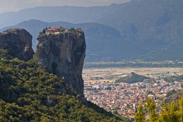 Monastery of saint Trinity at Meteora in Greece