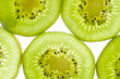 Kiwi Slices Close-Up